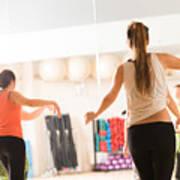 Dance Class For Women Poster