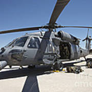 Hh-60g Pave Hawk With Pararescuemen Poster