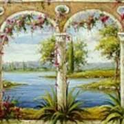 Italian Historical Villas Poster
