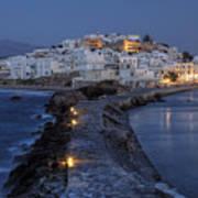 Naxos - Cyclades - Greece Poster