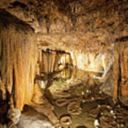Onondaga Cave Formations Poster