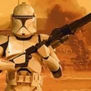 Vintage Star Wars Poster Poster