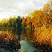 Landscape Definition Nature Poster