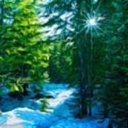 Nature Art Landscape Canvas Art Paintings Oil Poster
