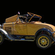 1930 Model A Ford Convertible Poster