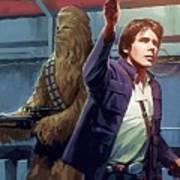 Star Wars Galaxies Art Poster
