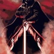 Star Wars Heroes Art Poster