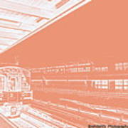 Train Station Series Poster