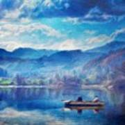 Oil Painting Landscape Pictures Nature Poster