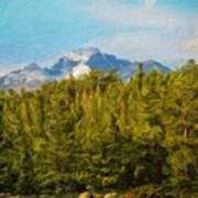 Landscape Paintings Canvas Prints Nature Art  Poster