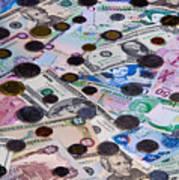 Travel Money - World Economy Poster