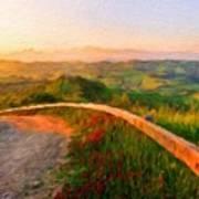 Landscape Nature Scene Poster