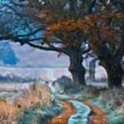 Painting Landscape Poster