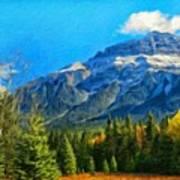 Nature Landscape Painting Poster