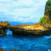 Landscape Painted Poster