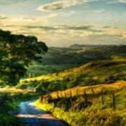 Nature Landscape Jobs Poster