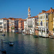 1399 Venice Grand Canal Poster