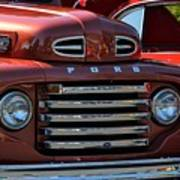 Classic Ford Pickup Poster