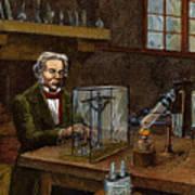 Michael Faraday, 1791-1867 Poster