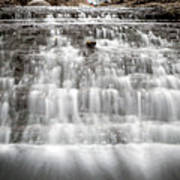 1452 South Elgin Waterfall Poster
