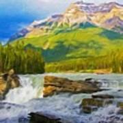Nature Landscape Oil Poster