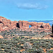 Arches National Park  Moab  Utah  Usa Poster