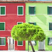 Burano Italy Poster