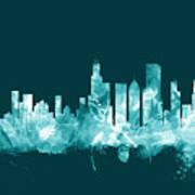 Chicago Illinois Skyline Poster