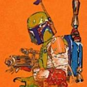 Star Wars Old Poster Poster