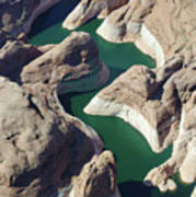 Tributary To Lake Powell Poster