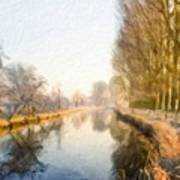 Landscape Oil Painting Nature Poster