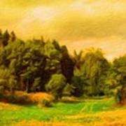 Nature Pictures Of Oil Paintings Landscape Poster