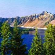 Painting Landscape Poster