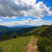 Mountain Panorama, Italy Poster