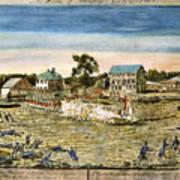Battle Of Lexington, 1775 Poster