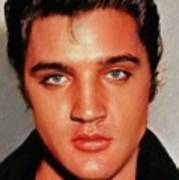 Elvis Presley, Rock And Roll Legend Poster
