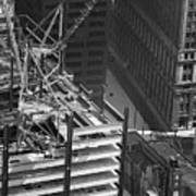 World Trade Center Under Construction 1967  Poster