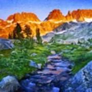 Nature Work Landscape Poster