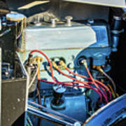 1743.034 1930 Mg Engine Poster
