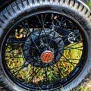 1743.051 1930 Mg Wheel Poster