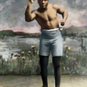 Jack Johnson, 1878-1946 Poster