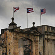 Old San Juan Puerto Rico Poster
