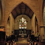 1865 - St. Jude's Church  - Interior Poster