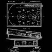 1871 Bagatelles Patent Drawing Poster