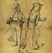 1876 Fireman's Suit Poster