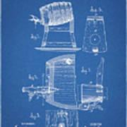 1883 Beer Faucet Design Poster