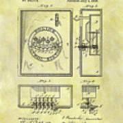 1895 Police Call Box Poster