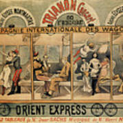 1896 Orient Express Musical Revue Paris Poster