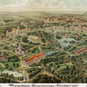 1897 Nashville Tennessee Poster