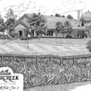 18th Hole - Deercreek Country Club Poster